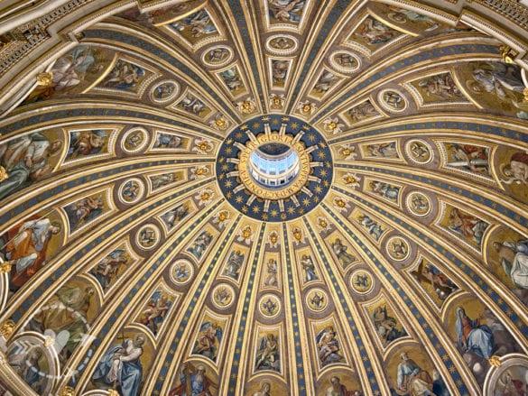 Cupola di San Pietro, interno