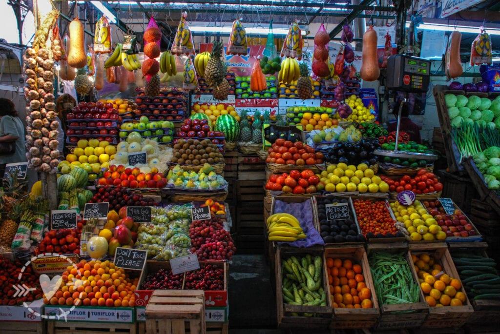 Mercato coperto a Sant'Elmo