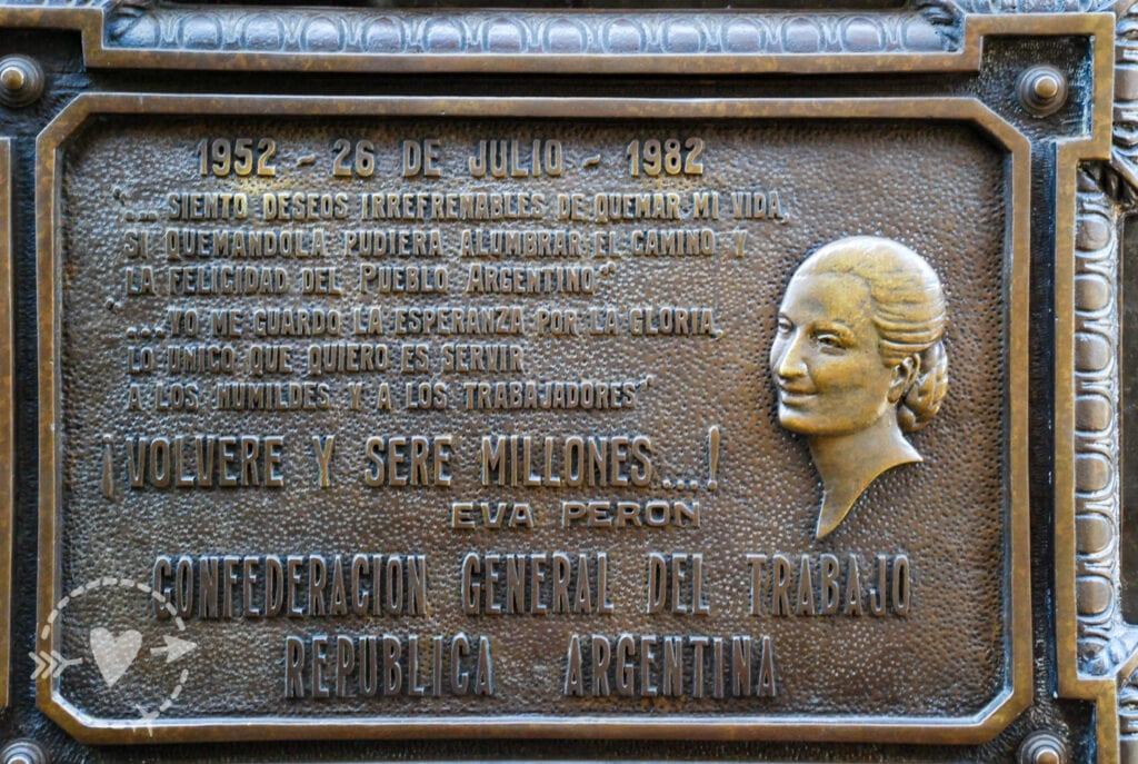 Cimitero monumentale Recoleta di Buenos Aires
