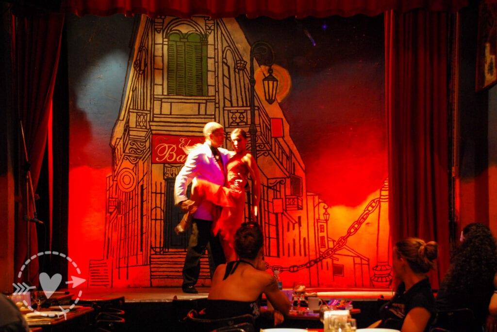 Tango a El Balcon, Buenos Aires