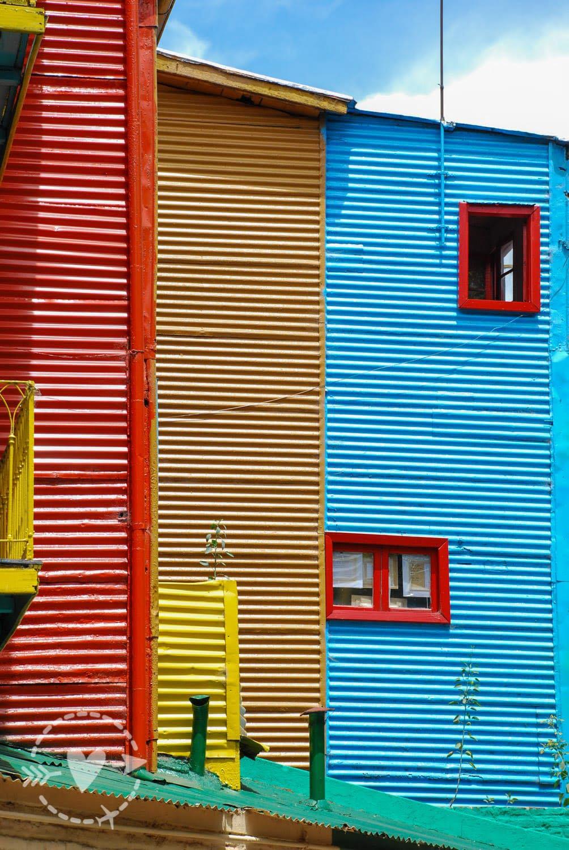 Quartiere della Boca, Buenos Aires, Argentina