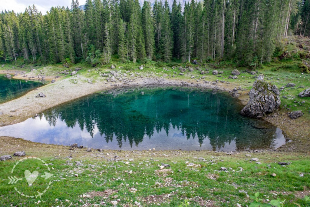 Escursione dalla Val di Fassa: il lago di Carezza