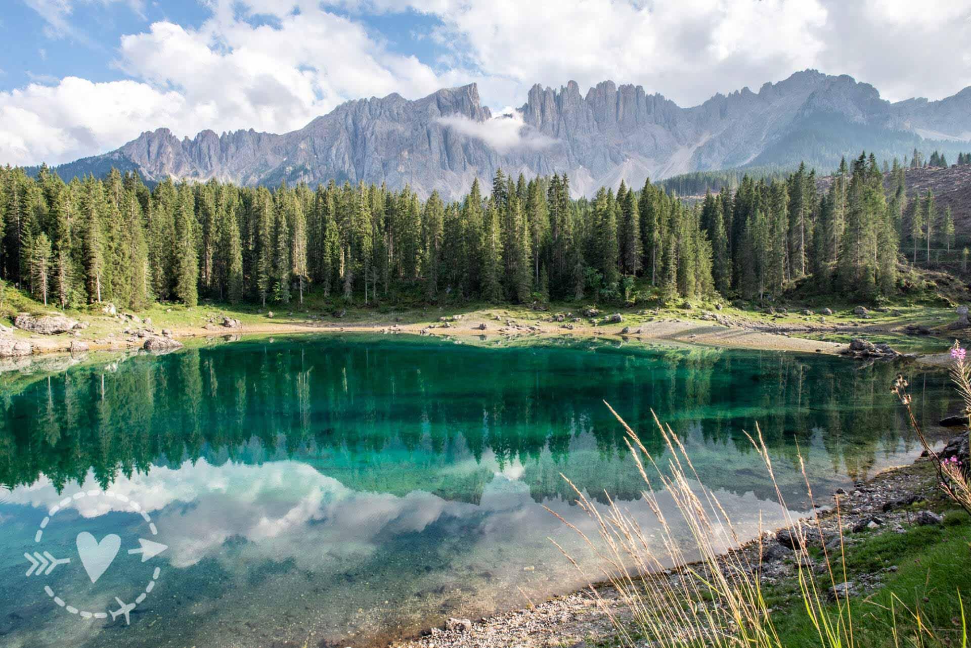 Lago di Carezza - le foto