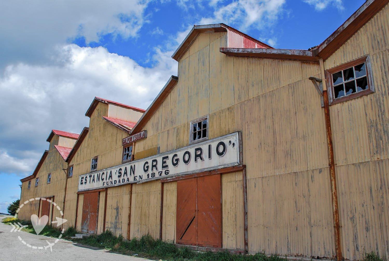 Estancia san Gregorio, Cile