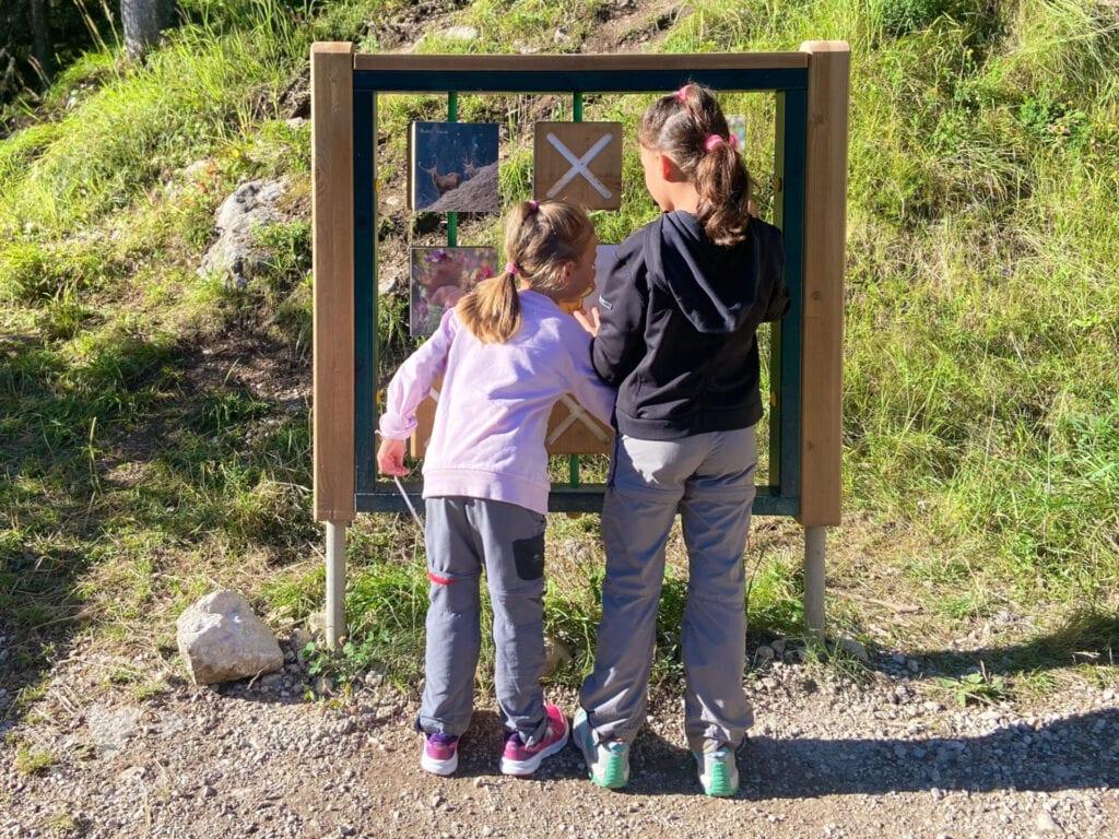 Al rifugio Contrin con bambini