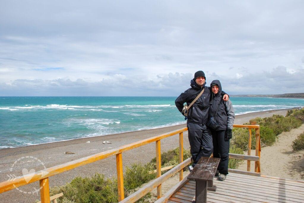 Punta Panoramico Punta Cantor, Penisola Valdes, Argentina