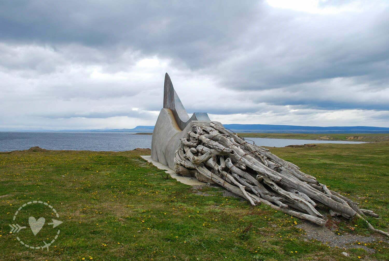 Monumento nei dintorni di Punta Arenas
