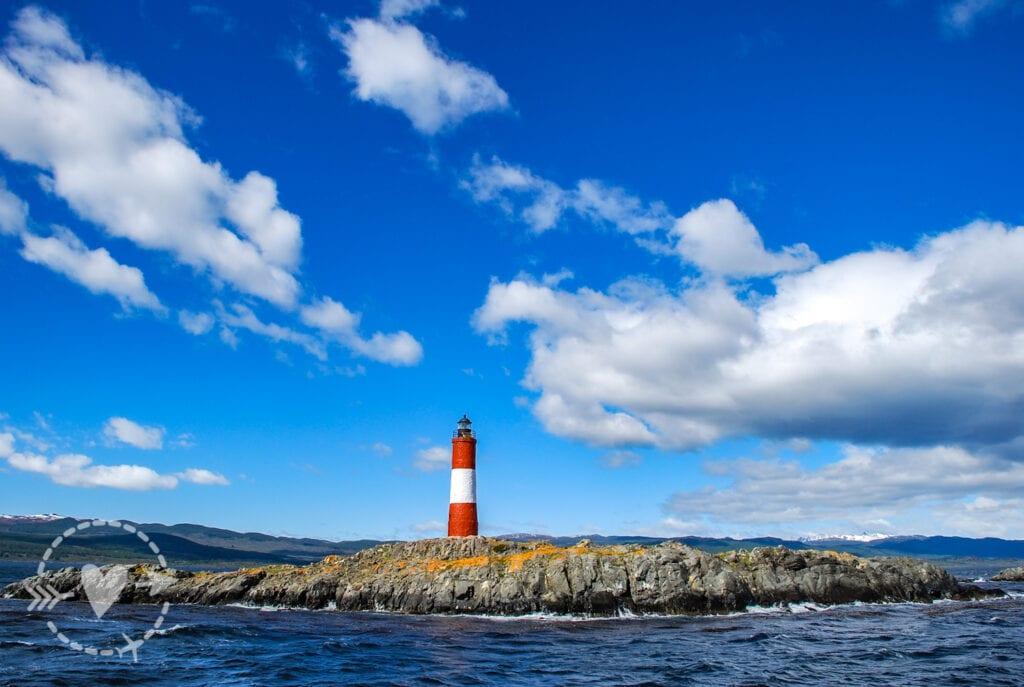 Faro di Les Eclaireurs, Ushuaia Canale di Beagle