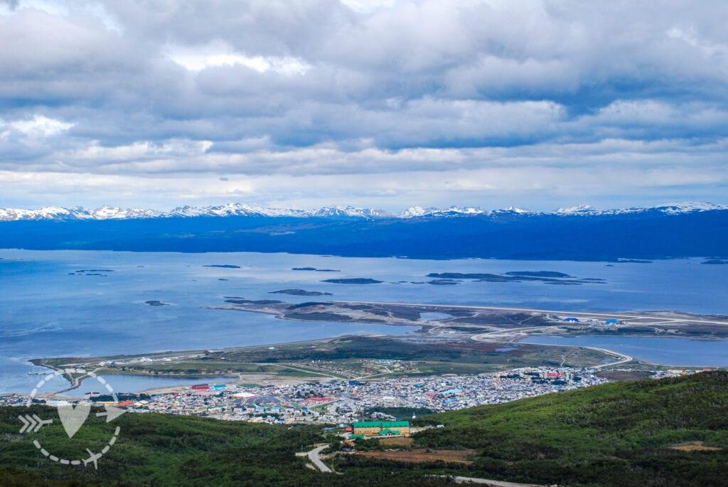 Panorama di Ushuaia day Ghiacciaio Martial