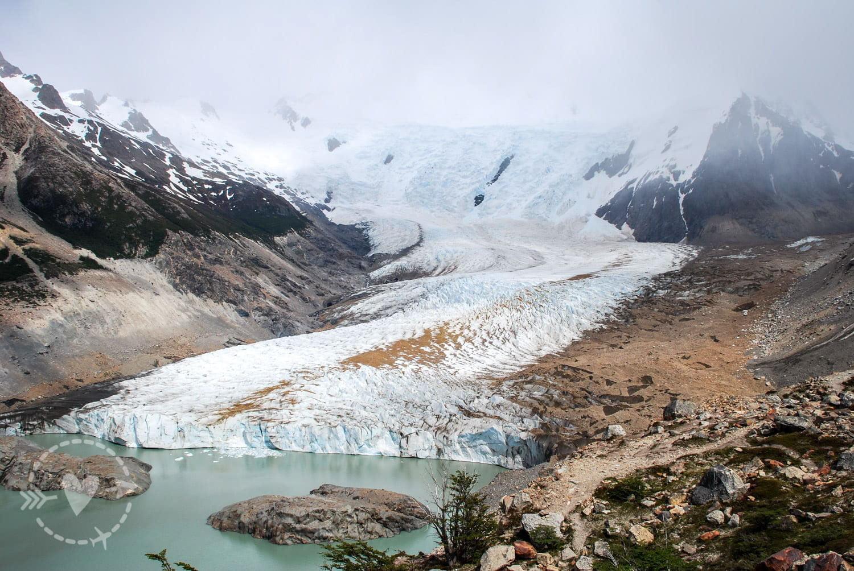Cerro Torre, ghiacciaio e Laguna Torre