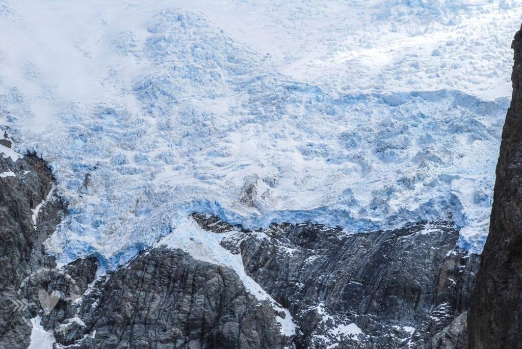 Monte Fitz Roy, ghiacciaio