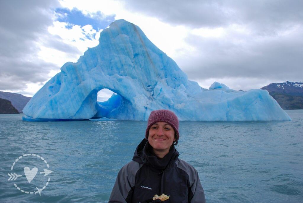 Di fronte a un iceberg