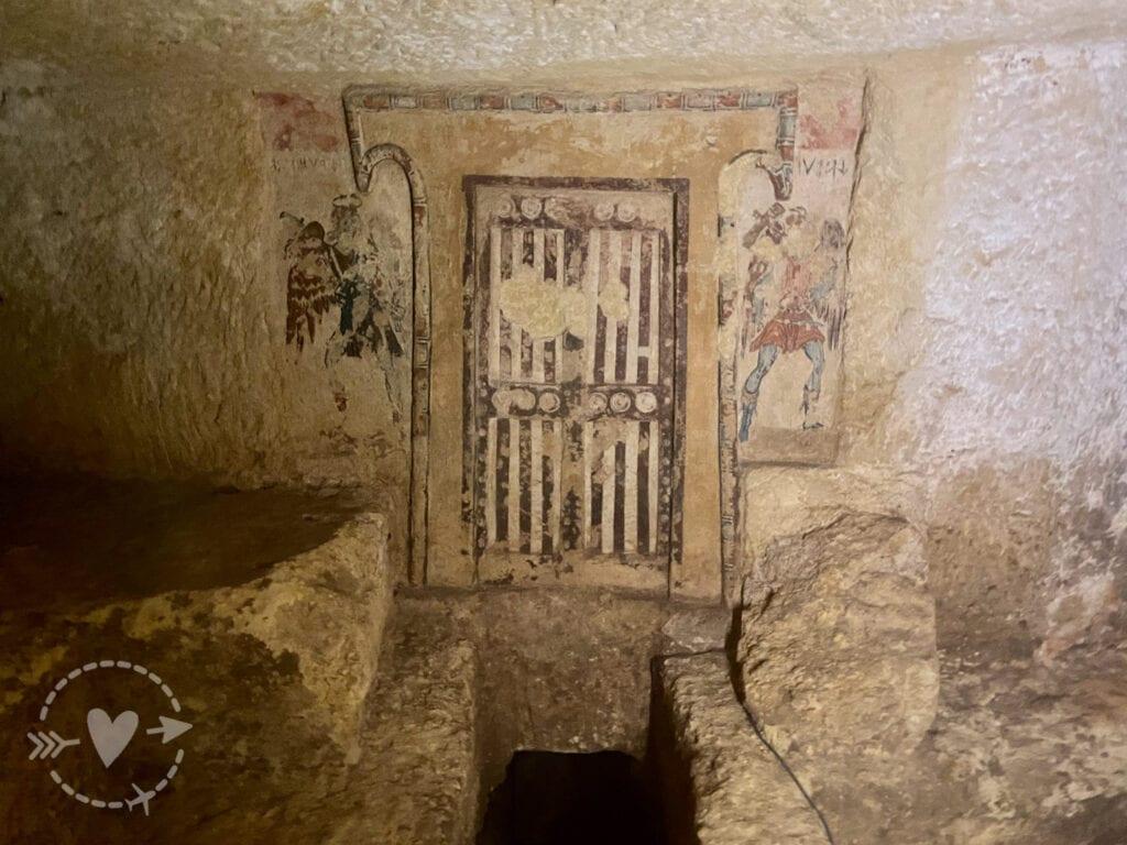 Una giornata con gli etruschi a Tarquinia: museo e necropoli.