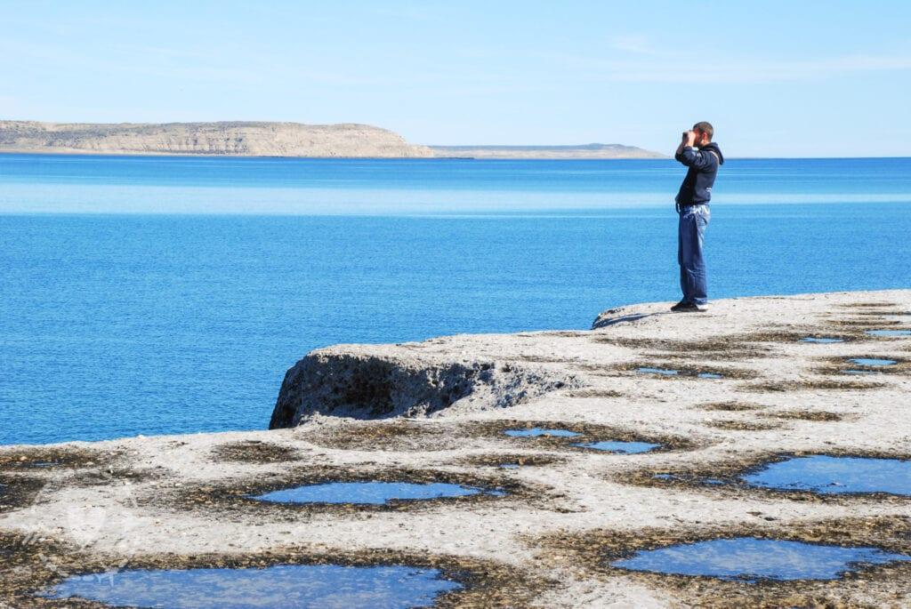 Formazioni rocciose della Penisola Valdes
