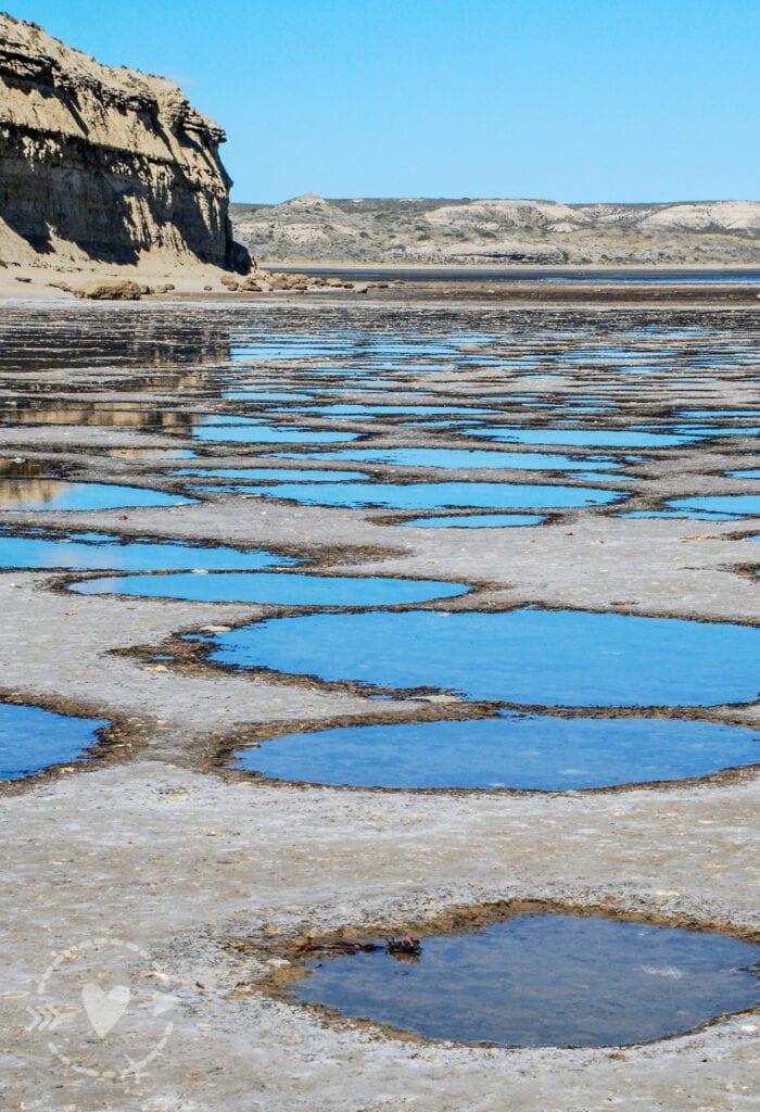 Formazioni rocciose Penisola Valdes