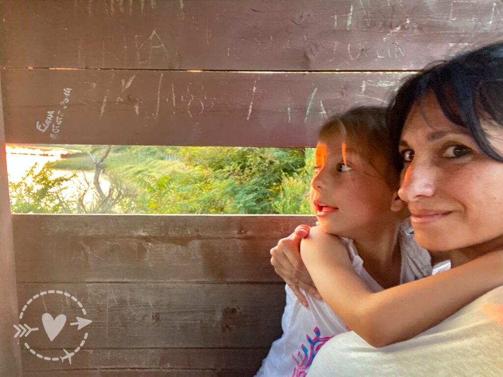 Saline di Tarquinia, torretta avvistamento