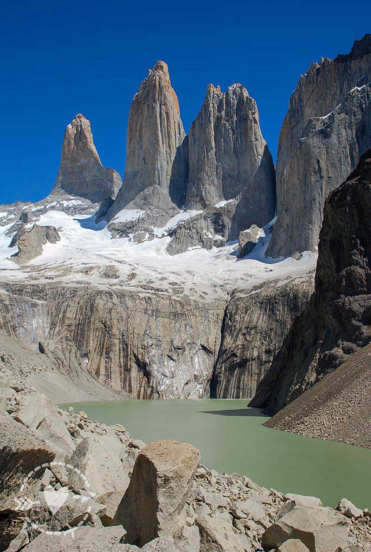Mirador Base de Las Torres, Torri del Piane, Cile