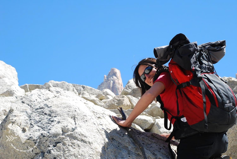 Trekking alla Laguna de Los Tres, Torri del Paine