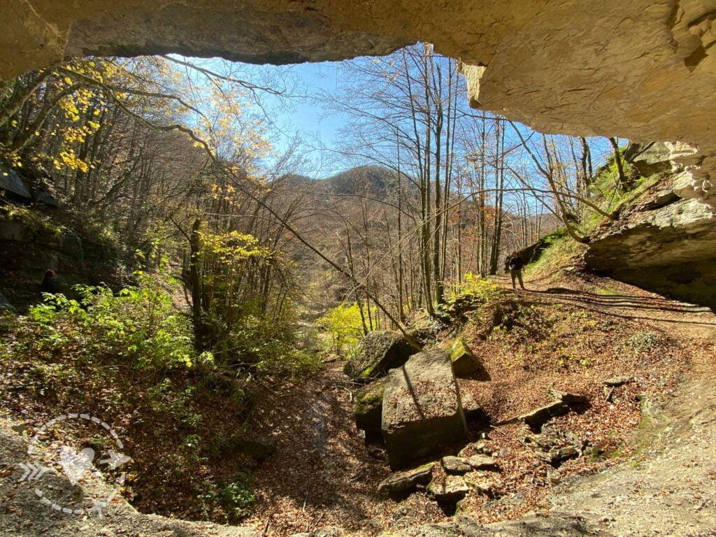 Escursione sull'appennino tosco-romagnolo: alla Cascata dell'abbraccio.
