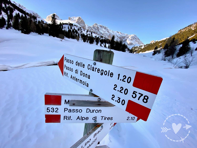 La Val Duron in motoslitta - le foto