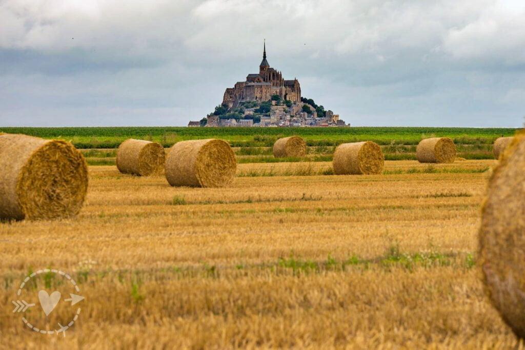 Mont-Saint-Michel, Normandie, France