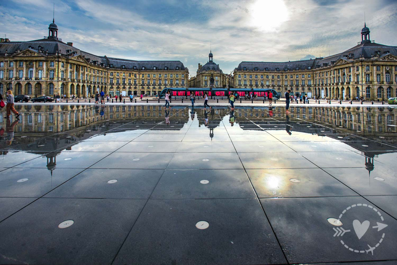 Place de la Bourse, Bordeaux, Nuova Aquitania, Francia
