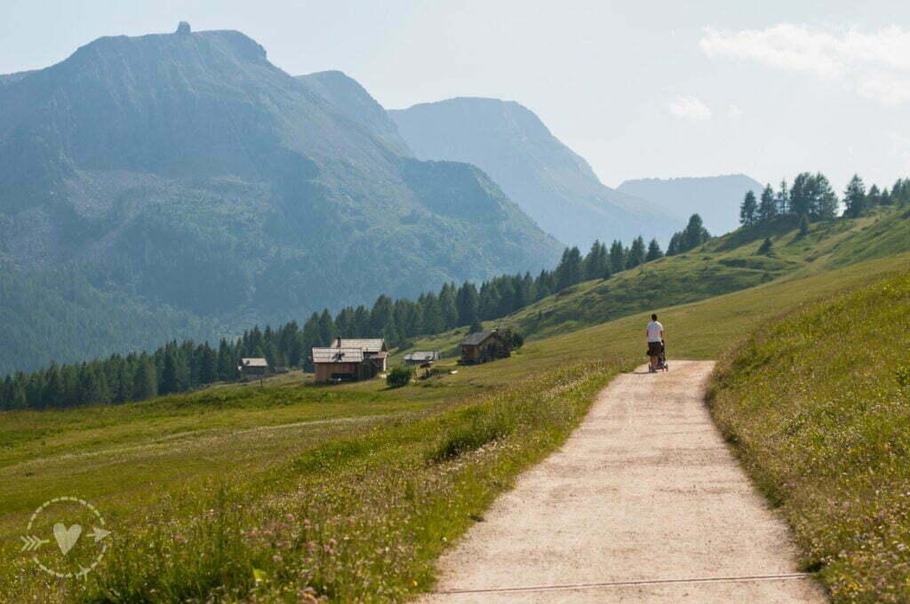 Escursione in Val di Fassa: al rifugio Fuciade