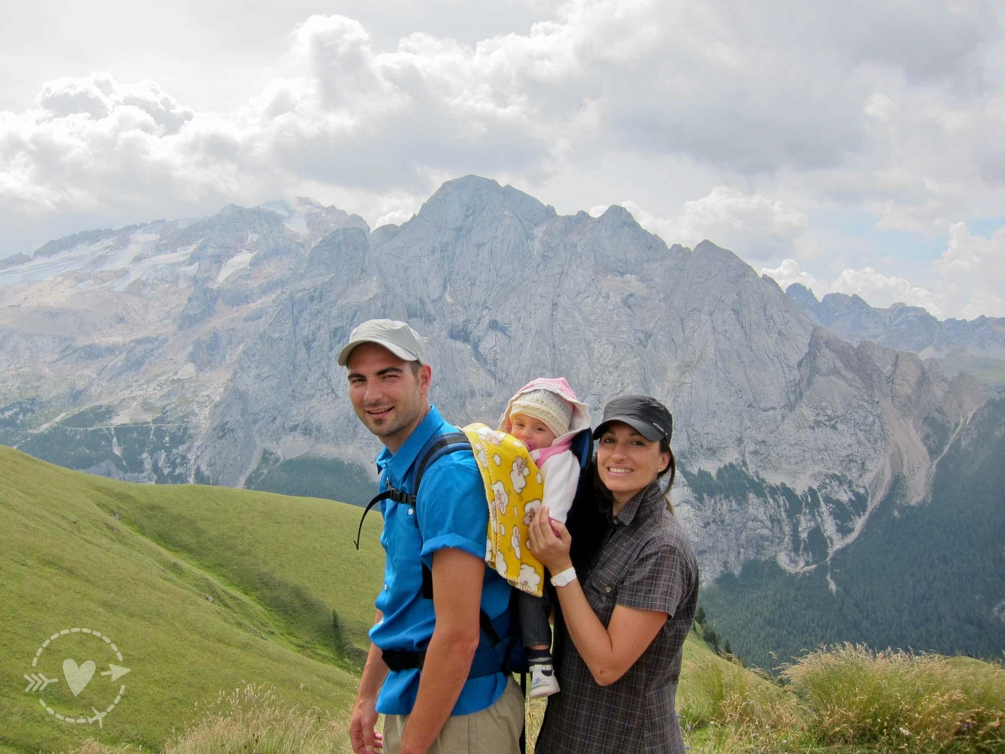 Escursione in Val di Fassa: sentiero Vìel del Pan da Passo Pordoi