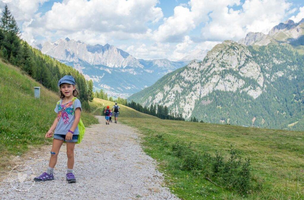 Escursione in Val di Fassa: il sentiero degli animali