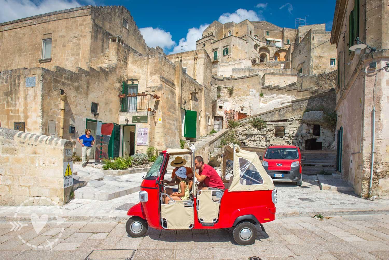Il centro storico di Matera - I sassi