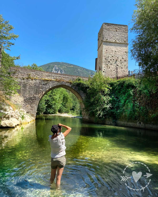 Ponte romano a San Vittore alle Chiuse